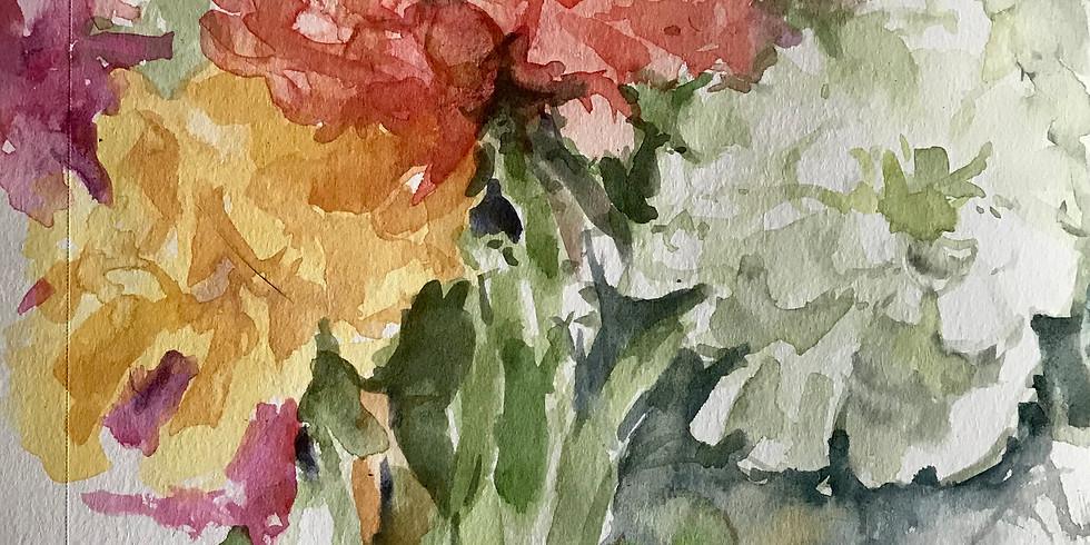 Anne Kullaf - Watercolor: Nature Journaling September