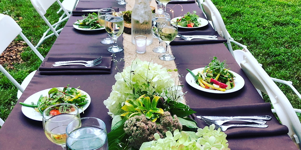 2nd Annual Garden-to-Table Fundraising Gala hosted by Chef Becky Geisel of BEX