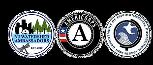 Americorps NJ Watershed Ambassador  Logo
