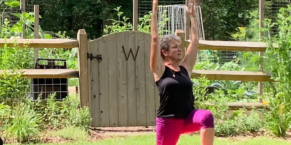 Thursday YOGA at Whittemore in the Gardens