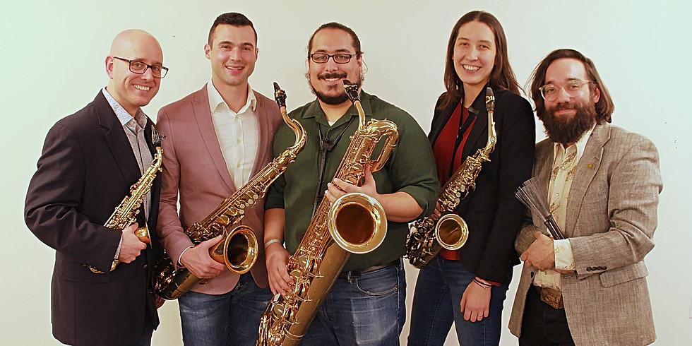 Spring Garden Concert - Metropolitan Sax Quartet