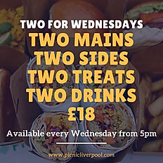 TWO FOR WEDNESDAYS
