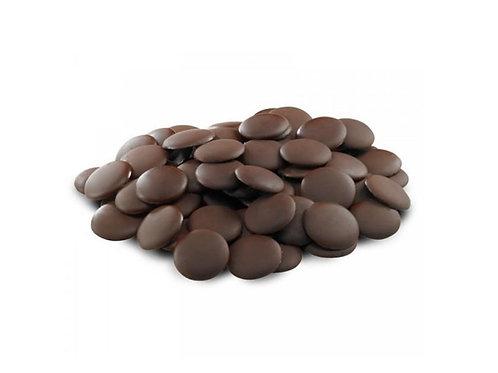 Глазурь шоколадная темная 1 кг. Caribe Fondente Dischi, Италия