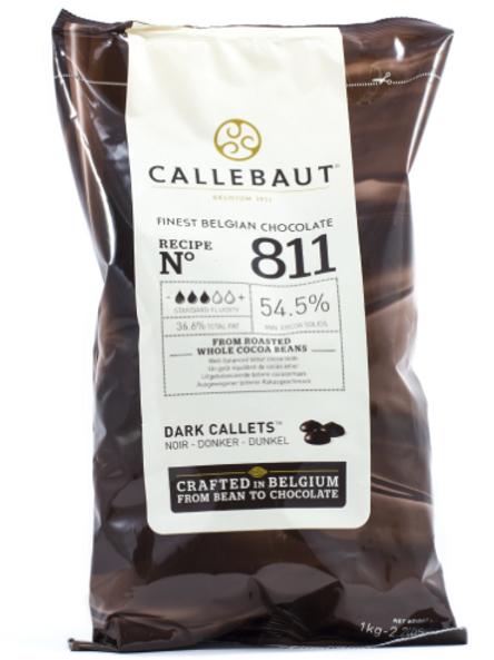 Шоколад темный Callebaut 54,5% 400гр/упак Бельгия