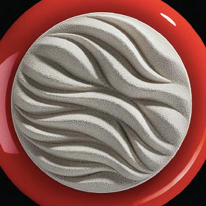 TOP08. Форма силик.объемная 3D ВОЛНЫ