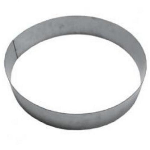 Форма кольцо металл d30см h6,5см
