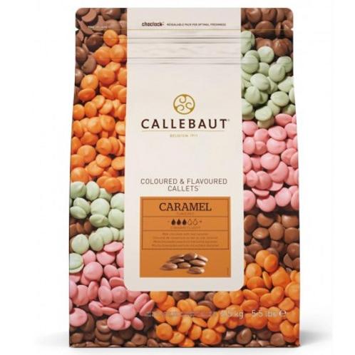 Шоколад со вкусом карамели Callebaut 2,5кг