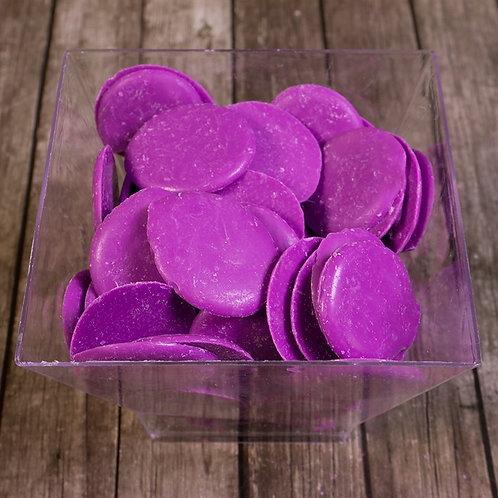 Шоколадная глазурь фиолетовая (голубика)  1кг/упакРоссия
