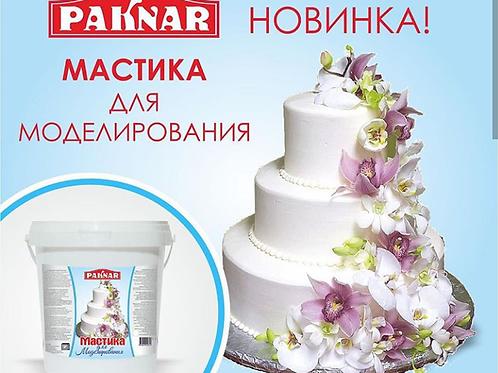 Мастика PAKNAR белая для моделирования 1кг
