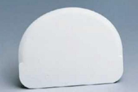 Пластмассовый скребок полусферой, Martellato