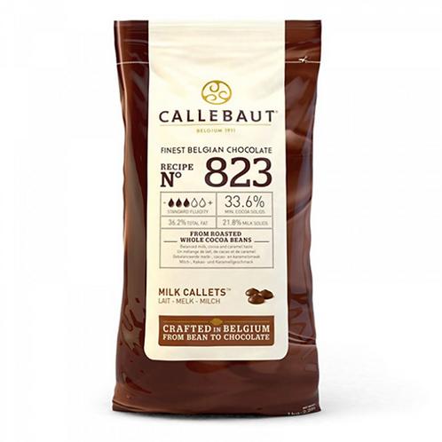 Шоколад молочный Callebaut 33,6% 10кг. Бельгия