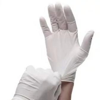 Перчатки латексные опудренные (S,M,L) 100 шт/упак