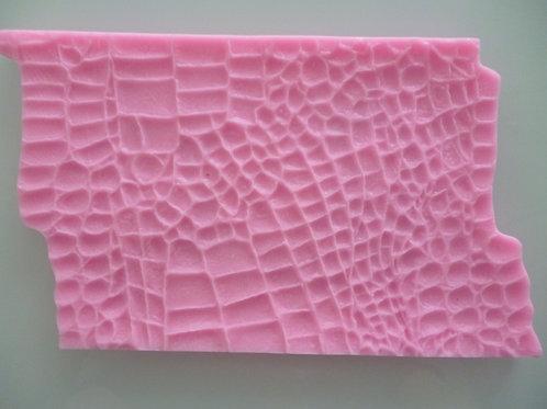 """Силиконовый коврик """"Крокодиловая кожа"""", 15х10 см."""