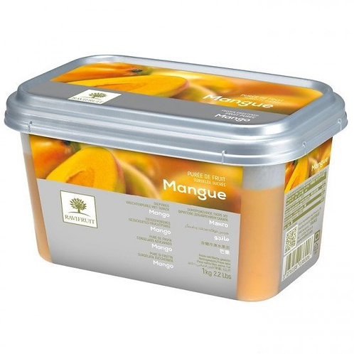 Пюре из манго Ravifruit Франция 1кг (10% сахара)