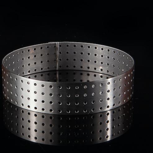 Кольцо ПЕРФОРИРОВАННОЕ металл d100 h20мм