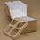 Thumbnail: Коробка ECO MUF 4 для маффинов, 4 ячейки