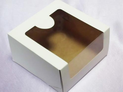 Упаковка для тортов с окном 180х180х100мм