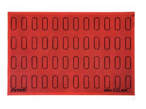 Коврик силикон.Эклер 48 контуров 60х18 мм Pavoni