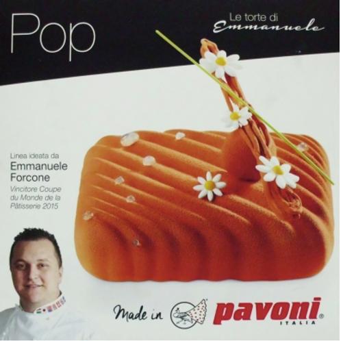 Форма силиконовая Pop 3D, Pavoni