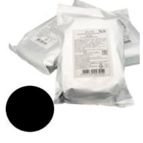 Мастика сахарная ванильная, черная, в ассортименте, 600 гр., Россия