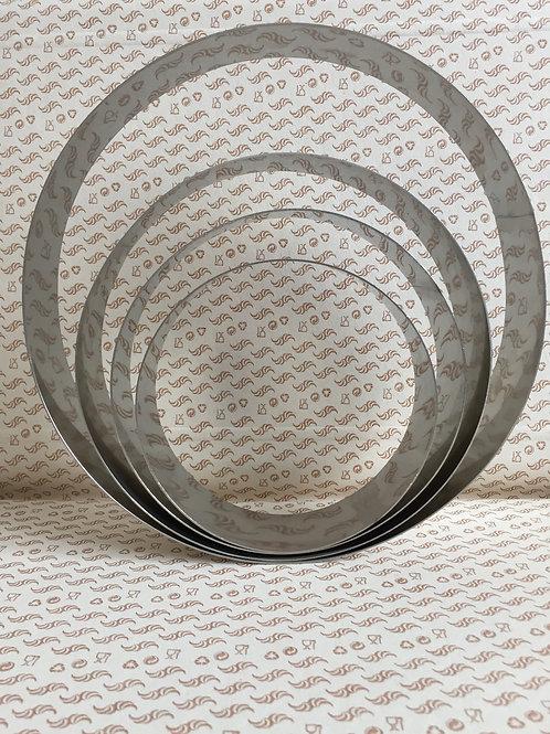 Форма  для муссового торта круг 18 см. (в ассортименте)