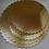 Thumbnail: Подложка под торт (золото) фигурная, d-30 см., Италия