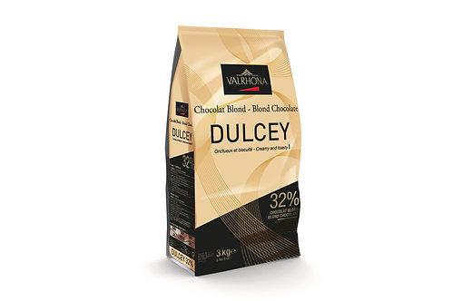 Шоколад белый Valrhona Dulcey 32% 0,5 кг.