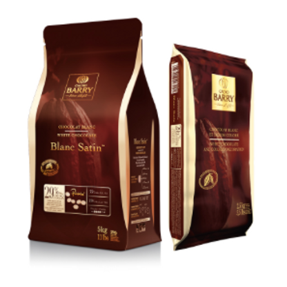 Шоколад белый BLANC SATIN 29% Cacao Barry 0,5кг