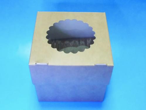 Коробка ECO MUF 1 для маффинов, 1 ячейка