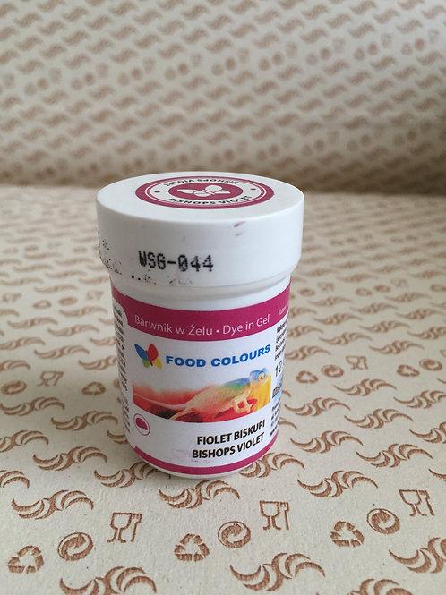 Краситель гелевый Food Colours, пурпурный,  35 гр., Польша