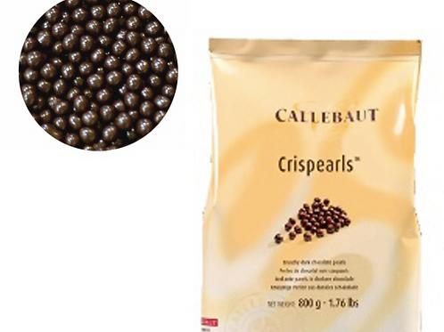 Шоколадные жемчужины Crispearls Callebaut - Тёмный шоколад
