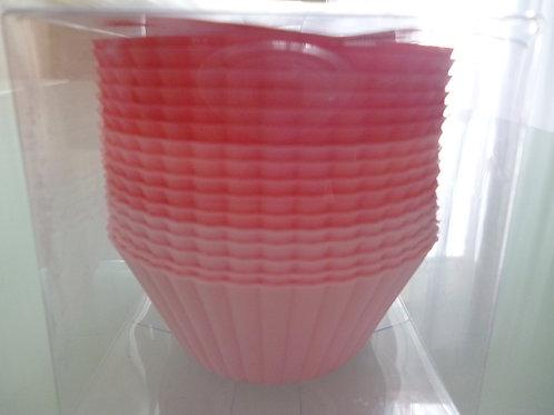 """Набор форм силиконовых """"Кекс"""", Vetta, КНР, 16 штук, 6,5х3,3 см."""
