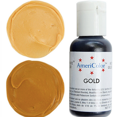 AmeriColor Краситель гелевый GOLD 21 гр.