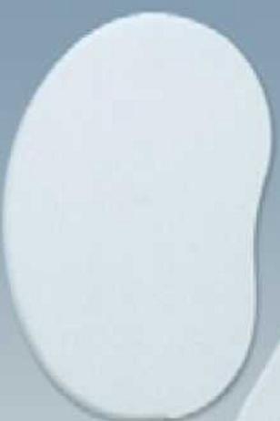 Пластмассовый скребок овальный, Martellato