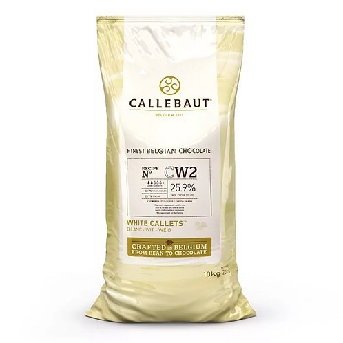 Шоколад белый Callebaut 25,9% 10кг. Бельгия