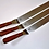 Thumbnail: Лопатка металл с дерев ручкой 155х35мм изогнутая