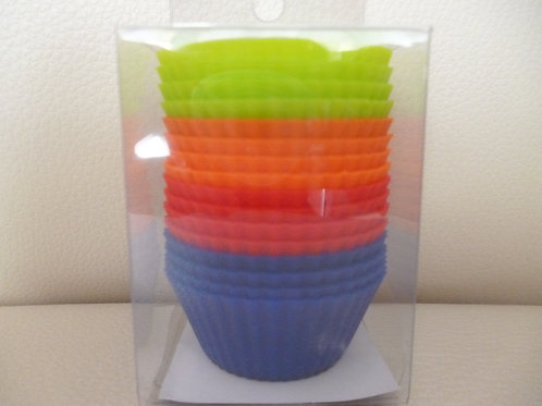 """Набор форм силиконовых """"Мини кекс"""", Vetta, КНР, 16 штук, 4,5х2,2 см."""
