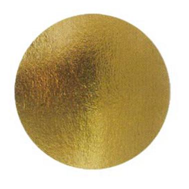 Подложка картон.круг.№8 золото, упаковка 50 шт.