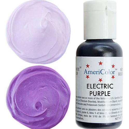 Краситель гелевый AmeriColor Electric Purple, 21 гр.