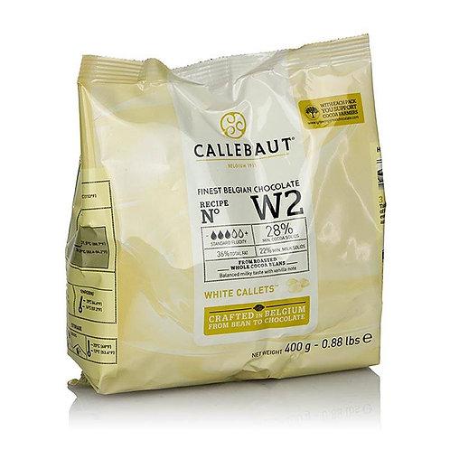Шоколад белый Callebaut 25,9% 400гр/упак Бельгия