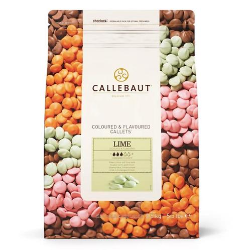 Шоколад со вкусом лимона Callebaut 2,5кг