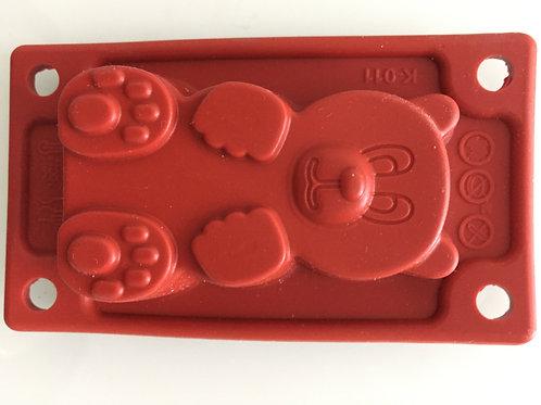 "Форма  силиконовая ""Мишка Барни"", 65х40х20 мм., шт."