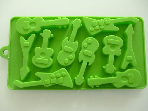 """Силиконовая форма для льда """"Гитара"""", КНР"""