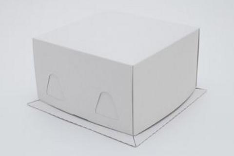 Упаковка для тортов Pasticciere хром-эрзац XW100 белый 170*170*100