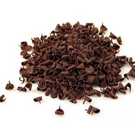 Шоколадные завитки Callebaut темные 100гр