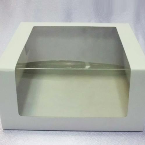 Упаковка для тортов с окном 225х225х110мм