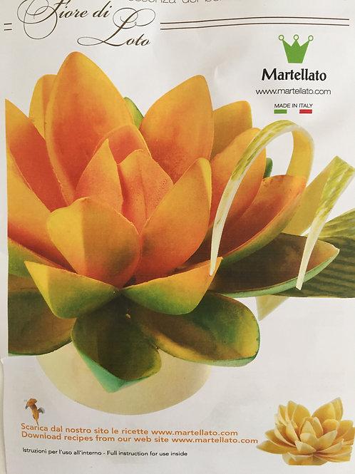 "Форма для шоколада ""Лотос"" 105*50мм, 6 ячеек, Martellato»"
