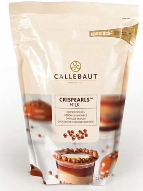 Шоколадные жемчужины Crispearls Callebaut - Молочный шоколад 0,8кг