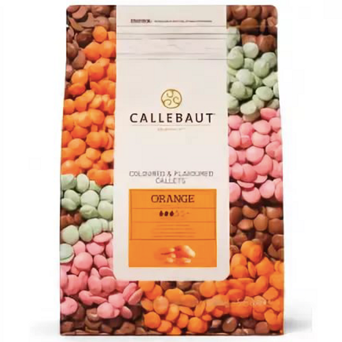 Шоколад со вкусом апельсина Callebaut 2,5кг