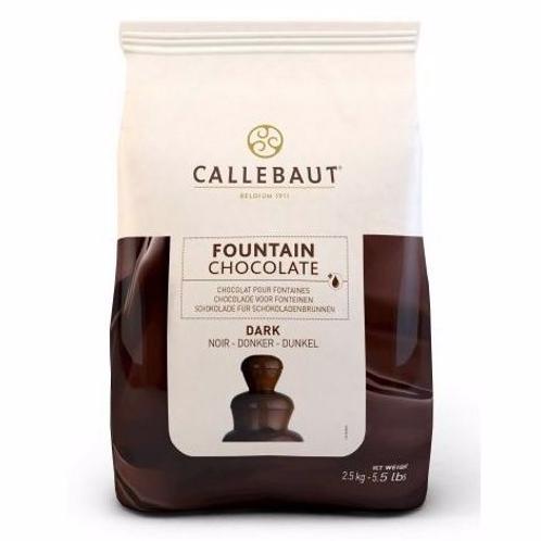 Тёмный шоколад для фонтанов Callebaut 56,9%, 2,5 кг